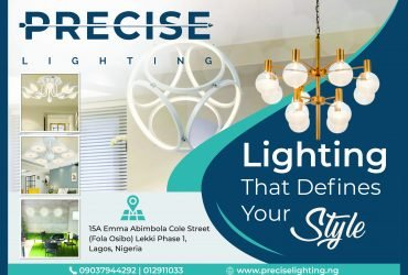 Precise Lighting: Buy Home Decor Lighting | Light Fixtures In Lagos